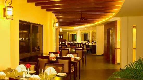 Kusini Restaurant at Poetree Sarovar Portico Thekkady, best hotels in thekkady