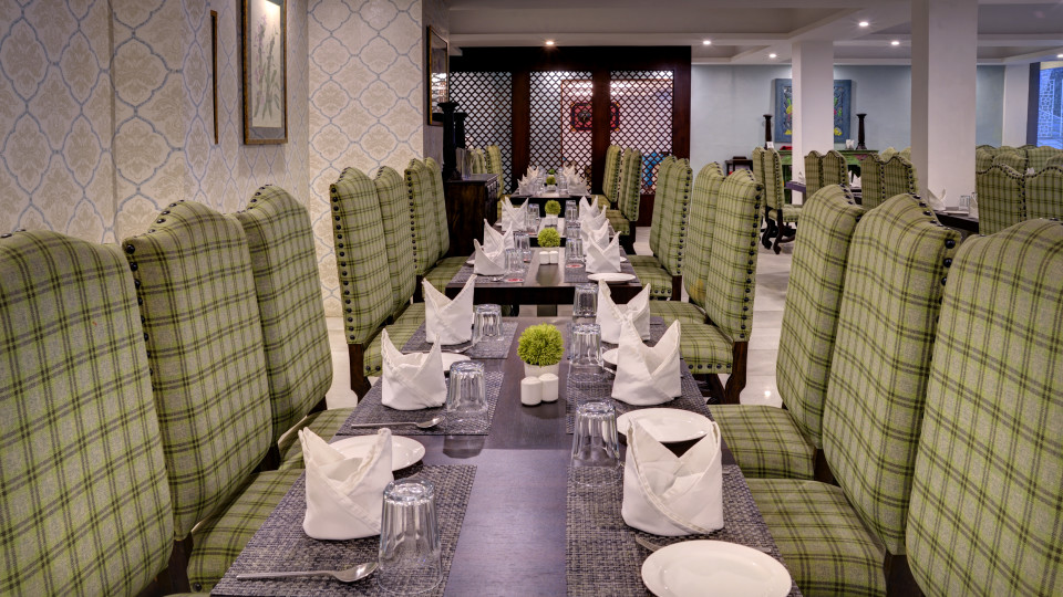 restaurant at Summit Denzong Hotel Spa Gangtok 1