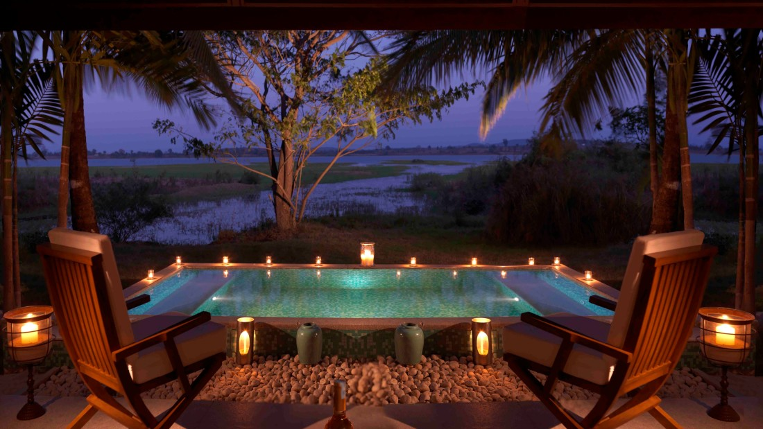 Jacuzzi at The Residence Room, The Serai Kabini, Stay At Kabini, Resorts Near Kabini