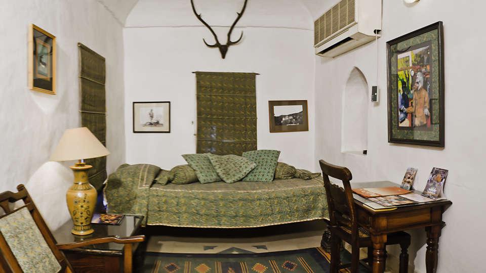 Neemrana Fort-Palace - 15th C, Delhi-Jaipur Highway Neemrana Mrig Mahal Hotel Neemrana Fort Palace Neemrana Rajasthan