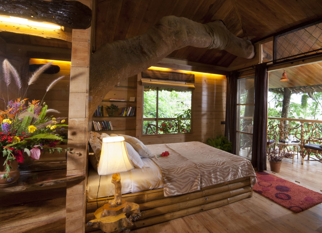 Tranquil Resort, Wayanad TreeHouse - Interior Verandah