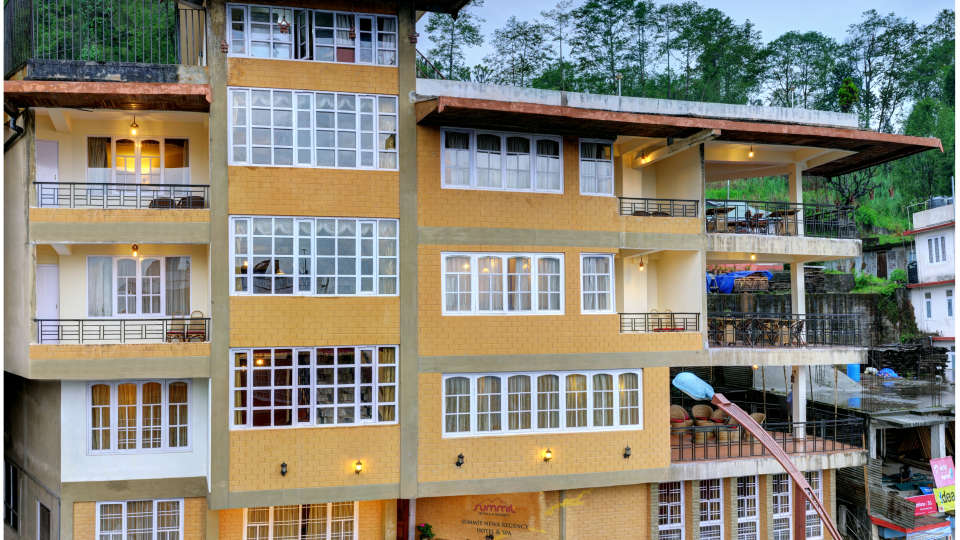 Facade Summit Newa Regency Spa Pelling Hotels in Pelling