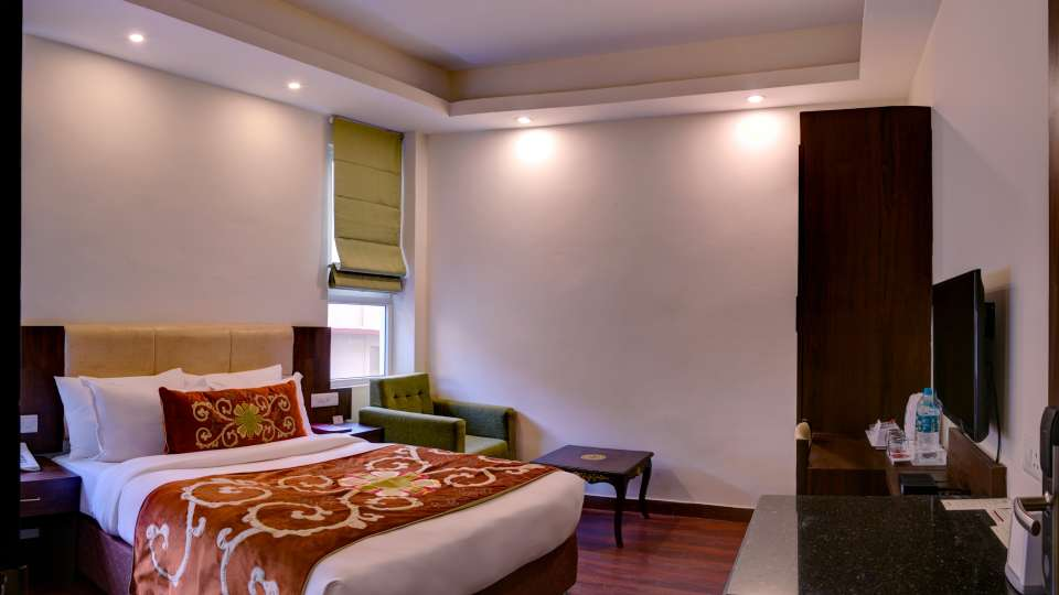 deluxe rooms at Summit Denzong Hotel Spa Gangtok 1