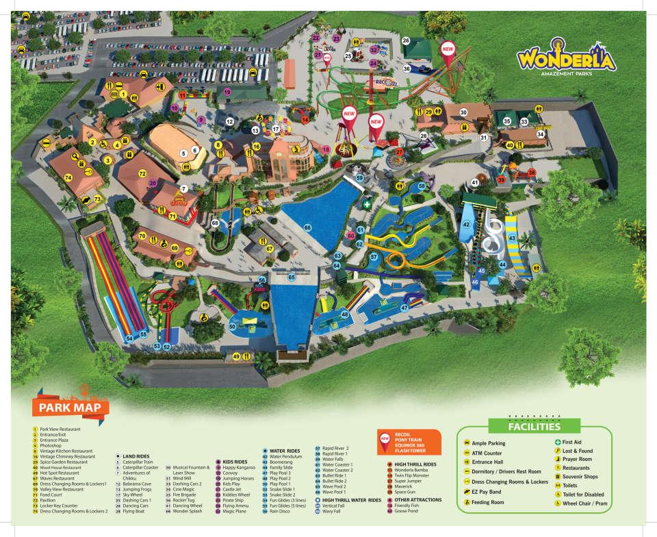 Park Layout Map Kochi  Sep 2017