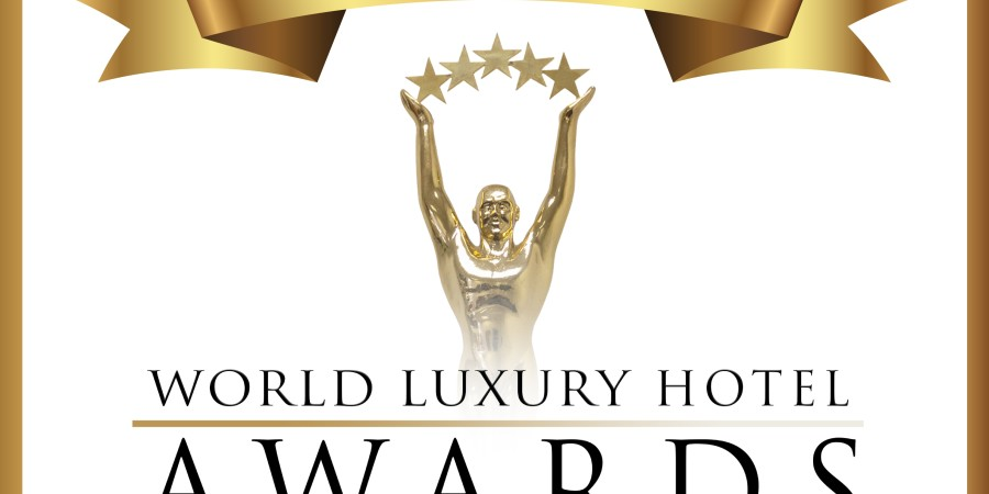 2019 Hotel Awards Winner logo Black text White Background