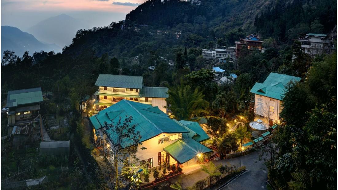 Bird eye view at Summit Norling Resort 3
