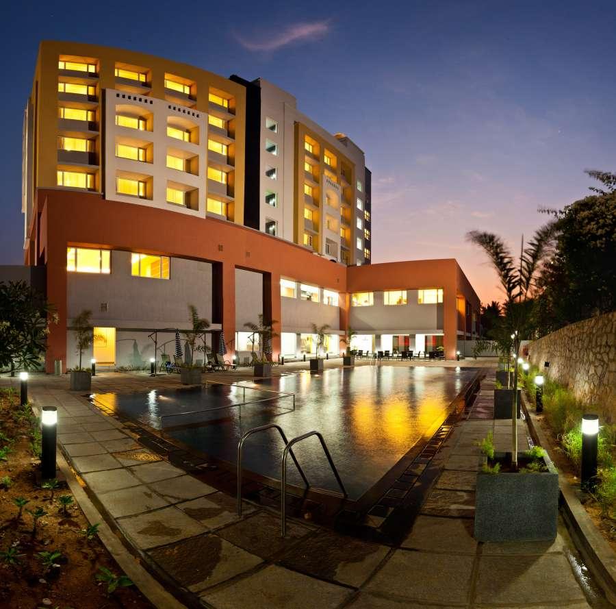 alt-text External view of Wonderla Resort Bangalore