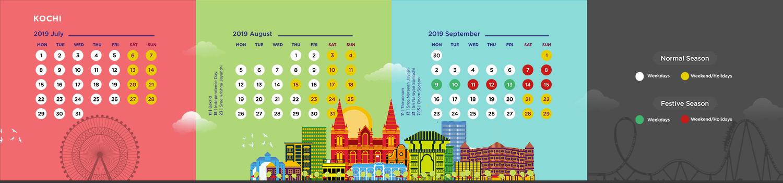 Ticket Prices Wonderla Amusement Park | Amusement Park in India