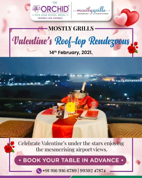 Valentine Offer for Orchid Mumbai