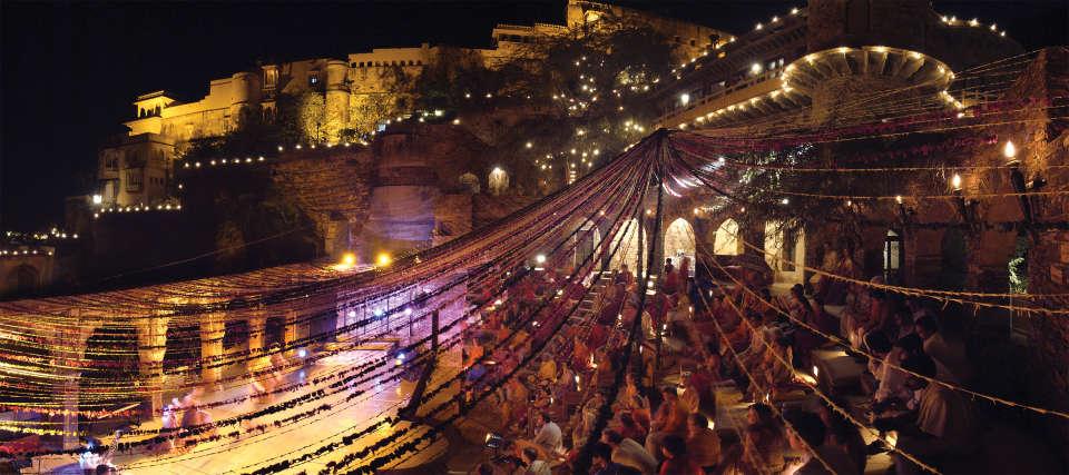 Neemrana Fort-Palace - 15th Century, Delhi-Jaipur Highway Neemrana Wedding Neemrana Fort-Palace Alwar Rajasthan 1