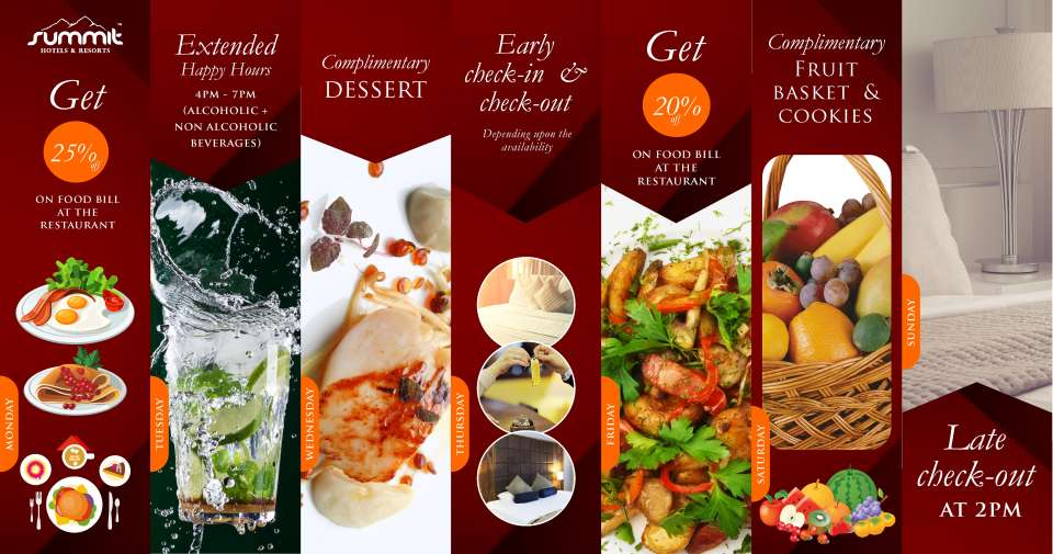 Offers of the Week Summit Hotels and Resorts largest Himalayan hospitality brand