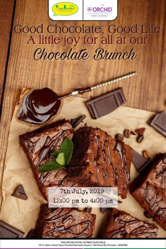 Chocolate Brunch - The Orchid Mumbai