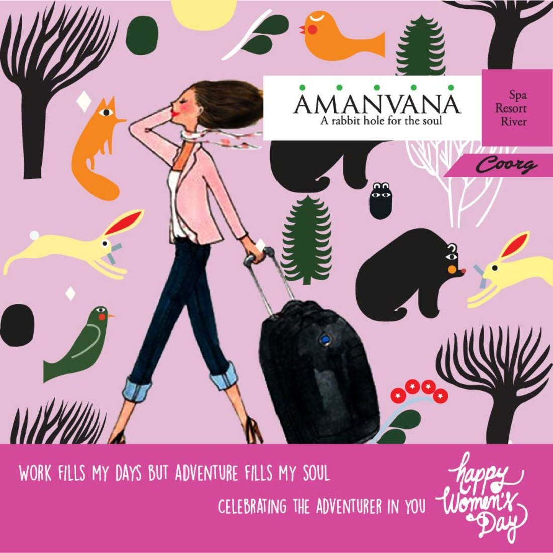 Activities in Coorg Hotels, Womens Day At Amanvana, Best Coorg Resort  11