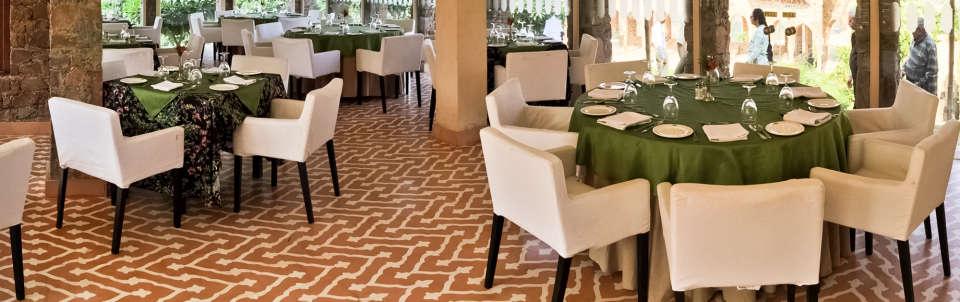 Restaurant in Alwar, Neemrana Tijara Fort Palace, Alwar Hotels 3