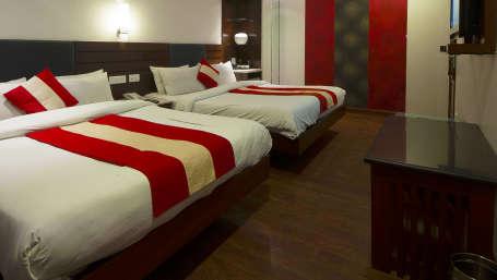 Hotel Aura IGI Airport, New Delhi New Delhi Family Room Hotel Aura Airport New Delhi 1