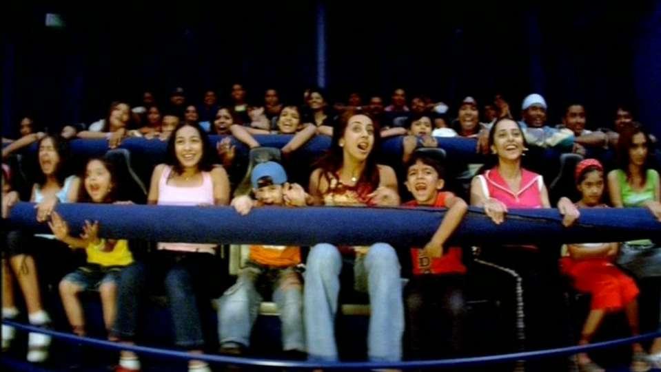 Dry Rides - Cine Magic 3D at  wonderla Amusement Park Bangalore