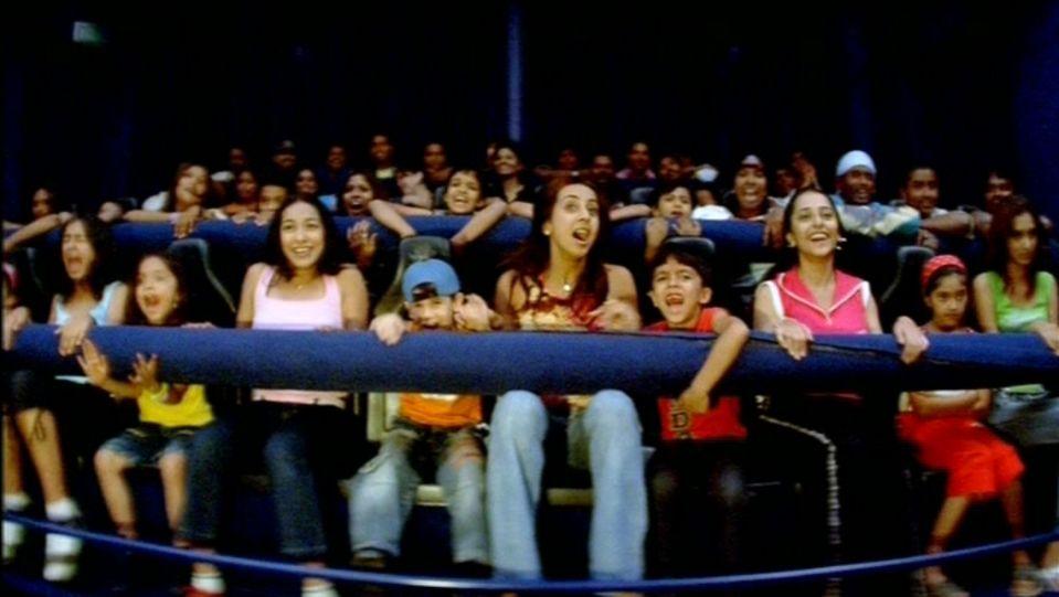 Dry Rides - Cine Magic 3D at  wonderla Amusement Park Bengaluru