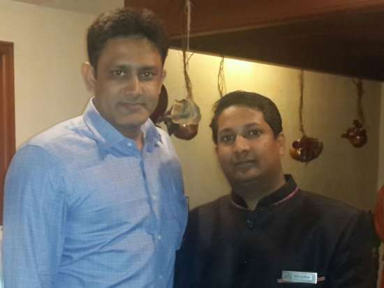 The Orchid - Five Star Ecotel Hotel Mumbai anil kumble at orchid ecotel hotel mumbai