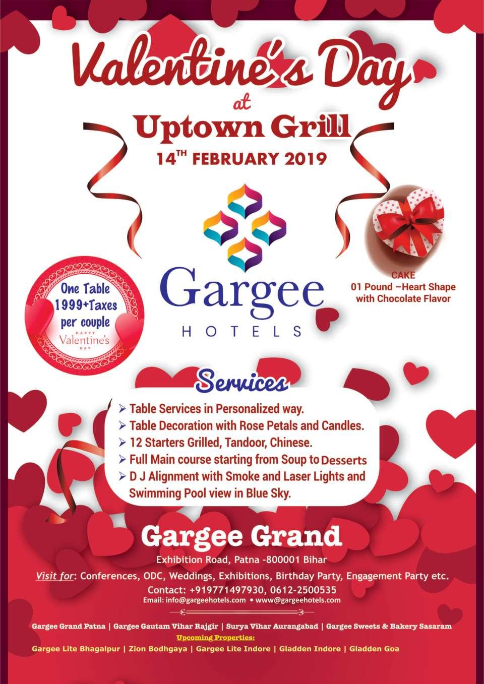 Gargi Valentine Day Flyer