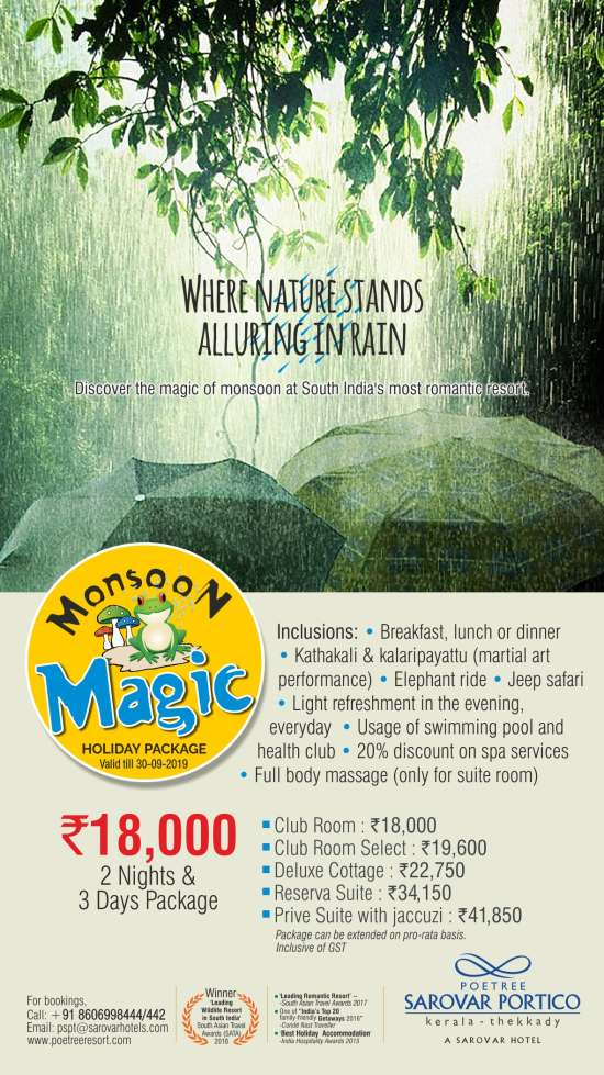 Poetree monsoon package