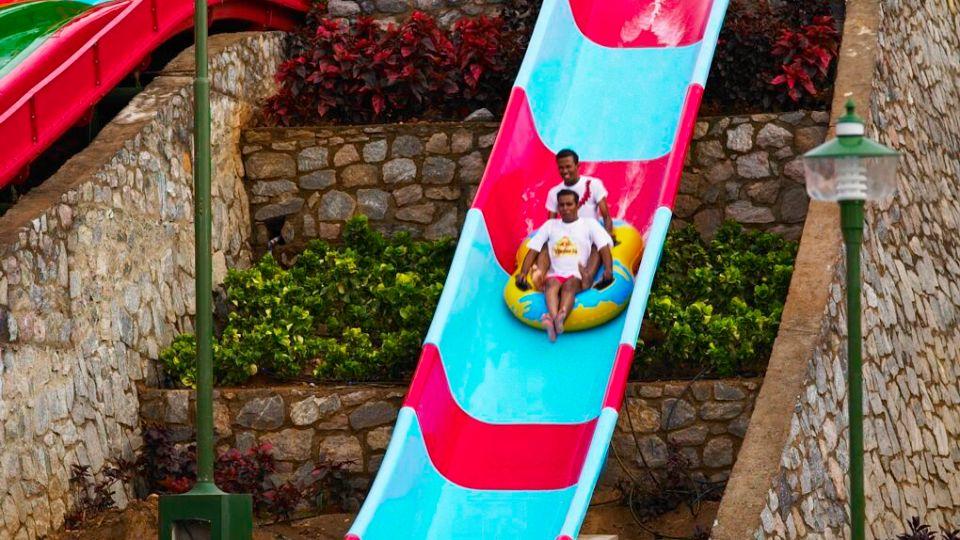 Water Rides - Hara Kiri at  Wonderla Amusement Park Bangalore