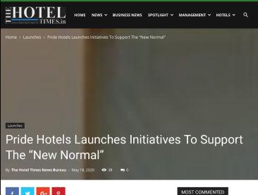 Thr Hotel Times 18.5.2020