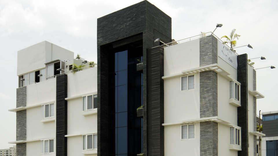 La Serene @ Madhapur Telangana Facade Hotel Serenity La Serene Hyderabad