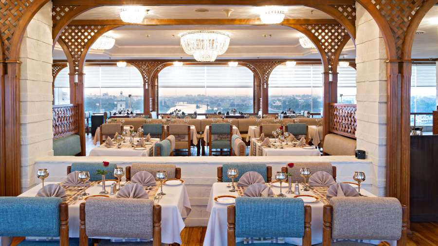 Falaknuma Restaurant at Clarks Avadh, hotel near gomti river in Lucknow,Suites in Lucknow