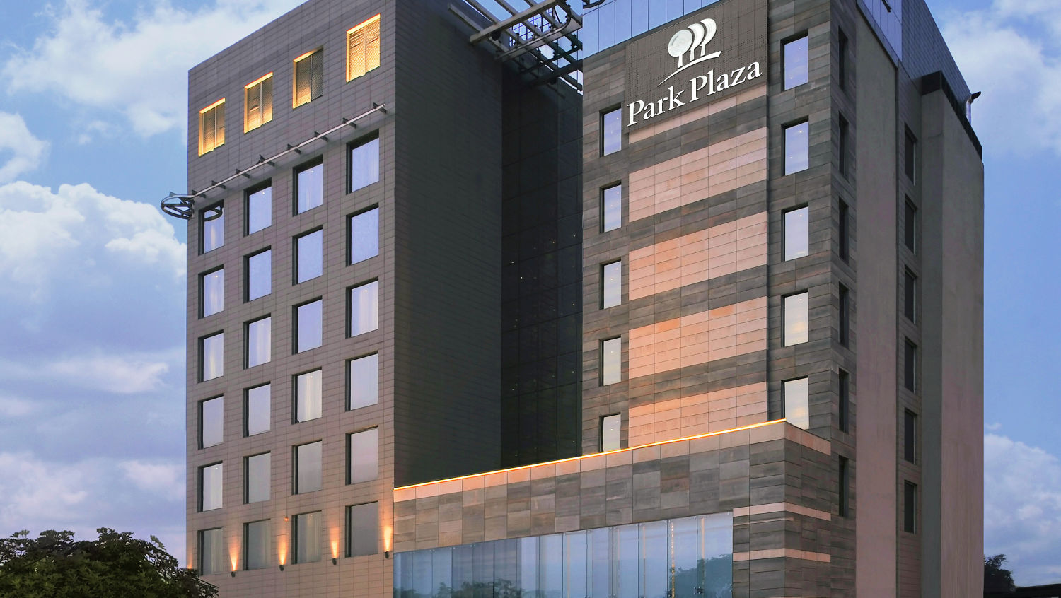 Facade view of Hotel Park Plaza, Faridabad - A Carlson Brand Managed by Sarovar Hotels, Hotels in Faridabad