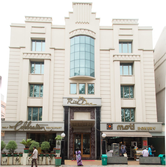 Facade at the Hotel Sarovar Ahmedabad, Outside view of Hotel Sarovar Ahmedabad
