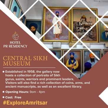 Central Sikh Museum-Amritsar