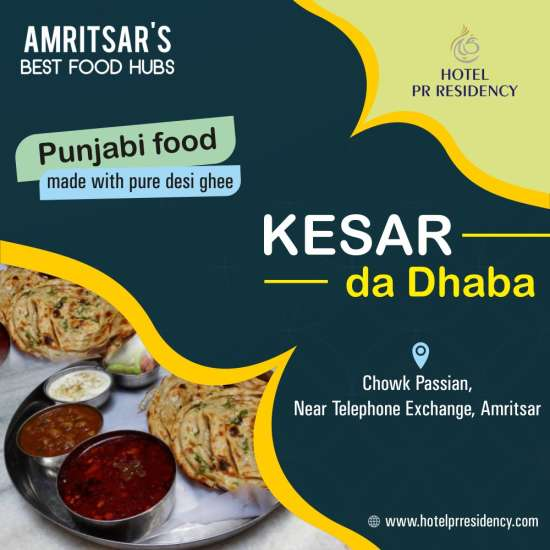 Kesar Da Dhaba-Amritsar-Food Places
