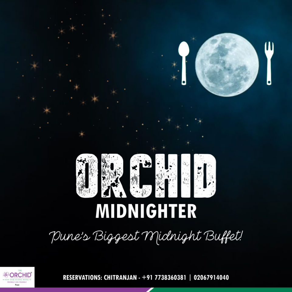 Orchid Midnighter The Orchid Hotel Pune - 5 Star Hotel in Pune