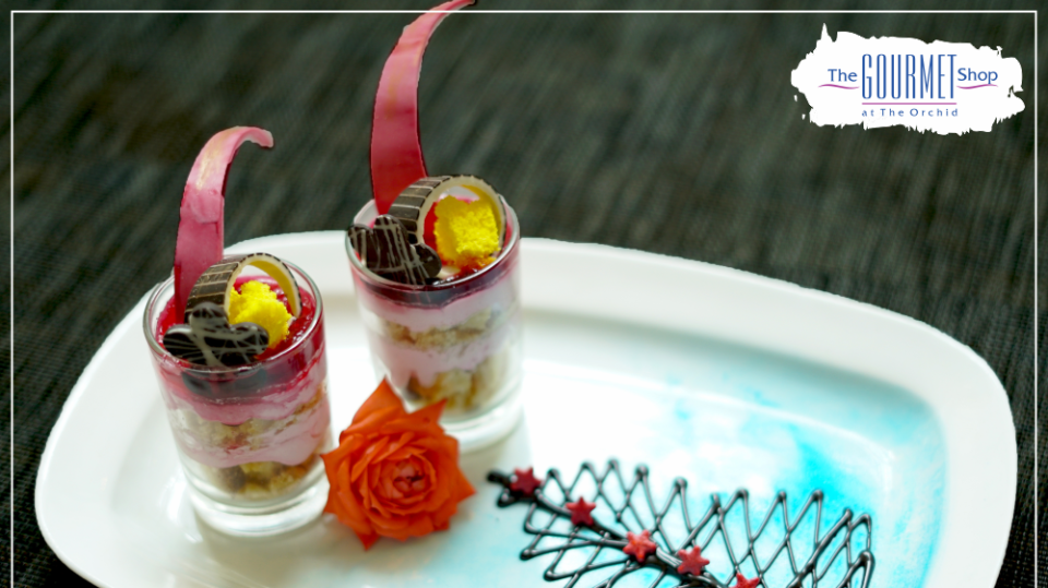Gourmet Restaurant - Dessert at The Orchid Hotel Pune 5