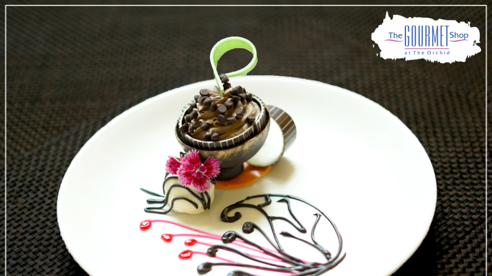 Dessert At Gourmet Restaurant, The Orchid Hotel , Dining In Pune 7