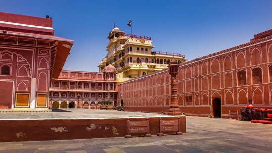 City Palace Jaipur near Clarks Amer 5 Star Hotel in Jaipur hotel near jaipur airport