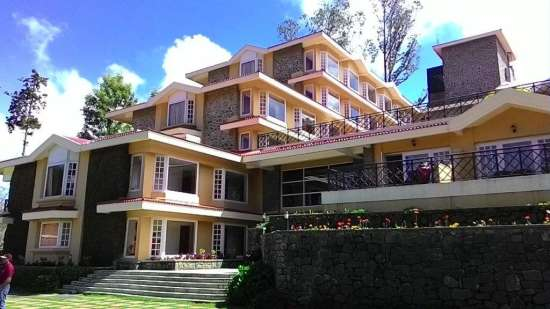 Exterior at The Carlton 5 Star Hotel, Kodaikanal luxury hotels 7