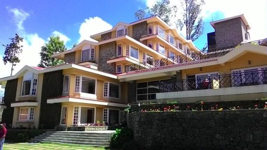 Exterior at The Carlton 5 Star Hotel, Kodaikanal luxury hotels 7