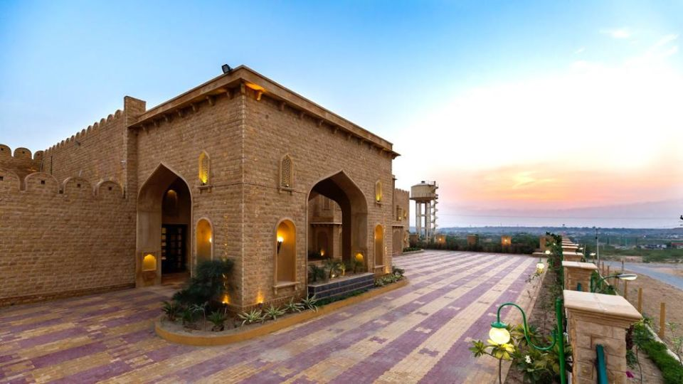 Main Porch Parking at Sairafort Sarovar Portico Jaisalmer