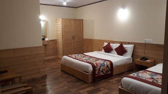 Deluxe Room at Summit Alpine Resort Lachung Hotels in Lachung 2