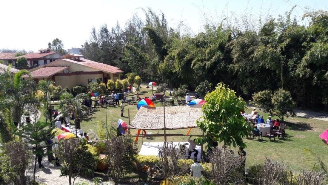 Holi celebration at Iris Resort