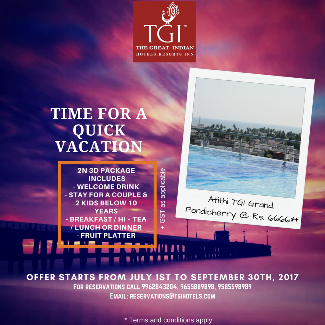 TGI Hotels and Resorts   atithi