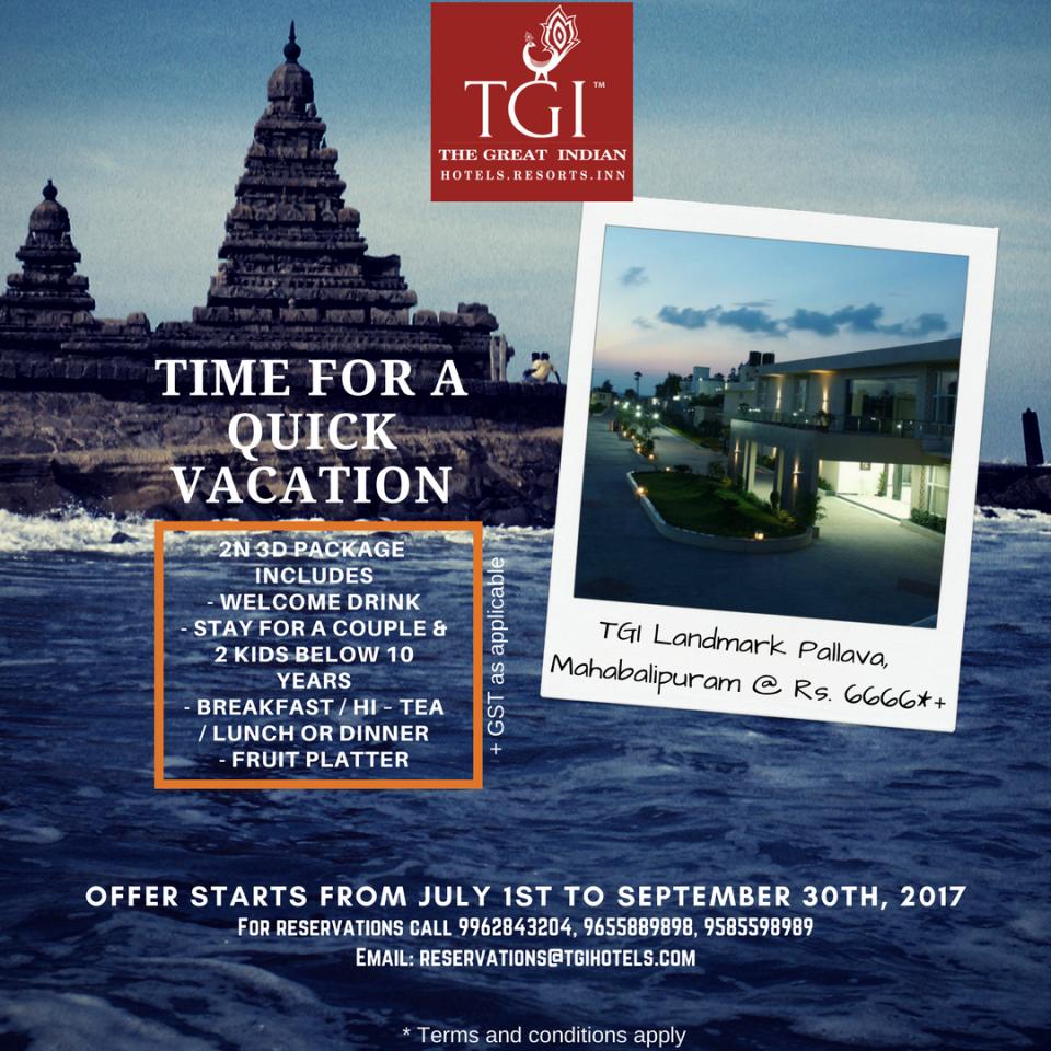 TGI Hotels and Resorts   LMP