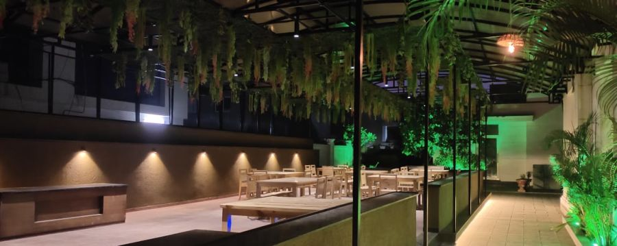 alt-text Outdoor Restaurant | Renest Gandhidham | Gujarat 2
