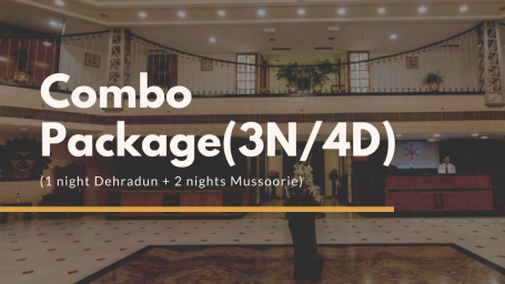 Hotel Pacific Combo Package Offer, Dehradun hotel, 4-star hotel in Dehradun