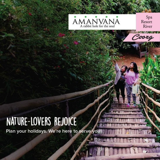 Amanvana Resort and Spa Coorg 2