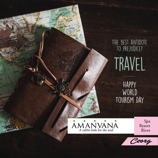 World Tourism Day at Amanvana Spa and Resort Coorg