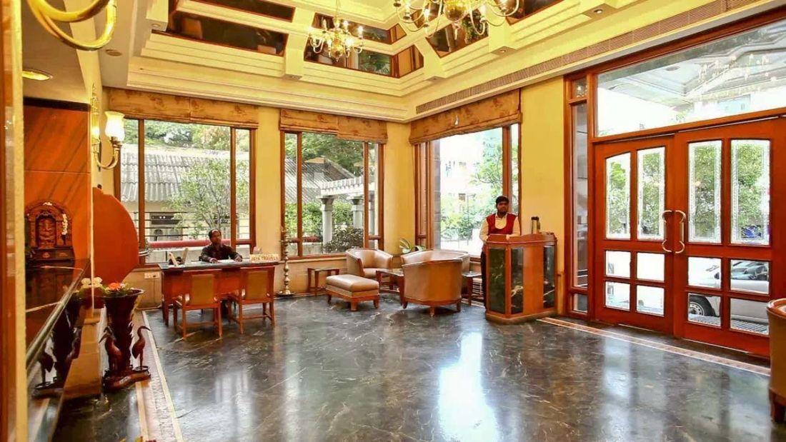 Lobby Kalyan Residency Hotel in Tirupati