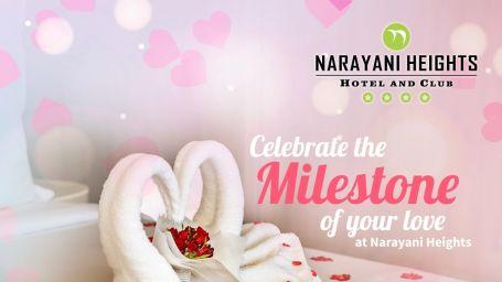Anniversary Package at Narayani Heights gandhinagar,  ahmedabad luxury hotel