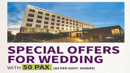 wedding offers at narayani heights, hotels near ahmedabad airport, wedding in ahmedabad 2